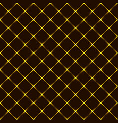 seamless pattern with rhombuses background vector image