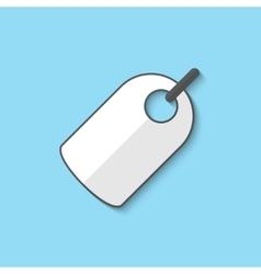 label web icon vector image