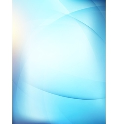 Abstract background with smooth lines EPS 10 vector image
