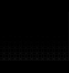 abstract intersecting gray circle pattern vector image
