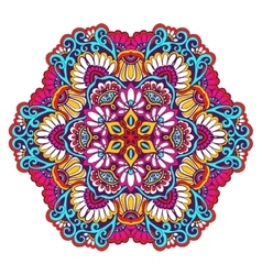 Decorative Mandala Color vector image
