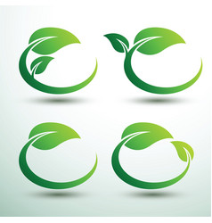 green labels2 vector image