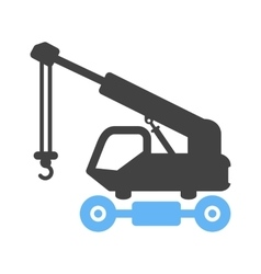 Lifter Crane vector image