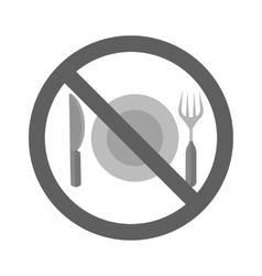 No Food vector