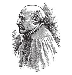 Saint ignatius of loyola vintage vector