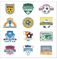 Soccer sign set vector