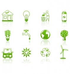 environment green vector image
