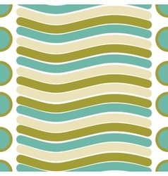 seamless texture of line and circle pattern vector image