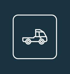 Prime-mover outline symbol premium quality vector