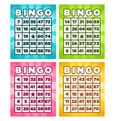 Bingo Cards vector