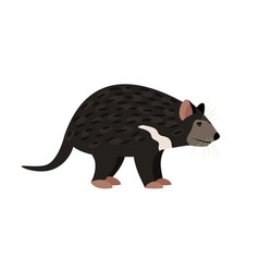 Cartoon tasmanian devil vector