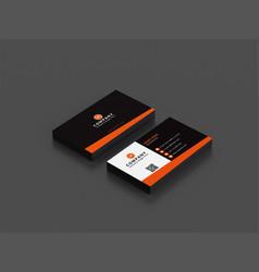 Company visiting card vector