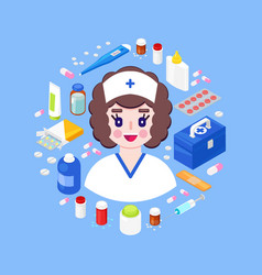 health care concept vector image