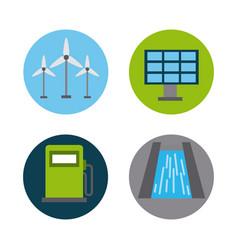 energy renewable ecology vector image