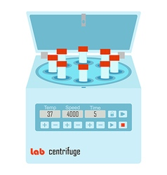 lab centrifuge vector image vector image