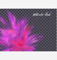 Abstract artistic element forming blots vector