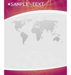 Business abstract design template vector