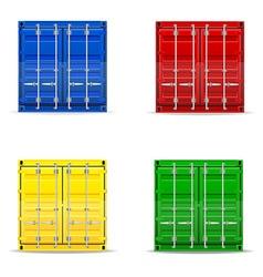 Cargo container 009 vector