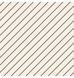 Diagonal stripped geometric seamless pattern vector image