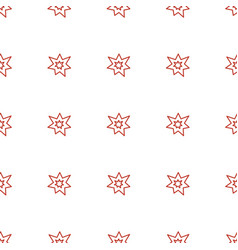 fireworks icon pattern seamless white background vector image