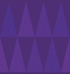 Luxurious purple geometric triangle design on vector