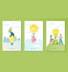 teamwork business idea vector image