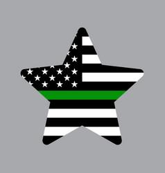 american star icon vector image