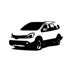 Car silhouette logo vector