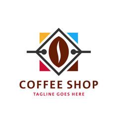Coffee shop inspiration logo design vector