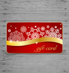 Holiday Gift Coupons vector