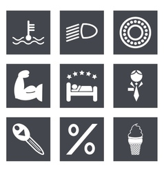 Icons for Web Design set 34 vector