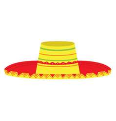 Mexican hat icon vector