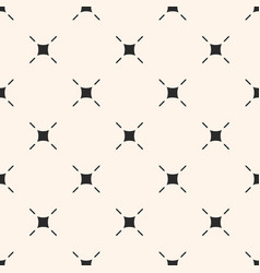 Minimalist seamless pattern with thin lines vector