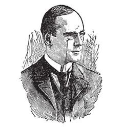 richard mansfield vintage vector image