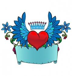 valentine tattoo vector image