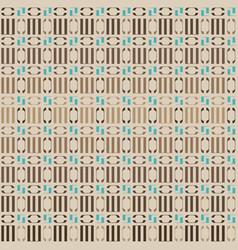 beige geometric ornament vector image