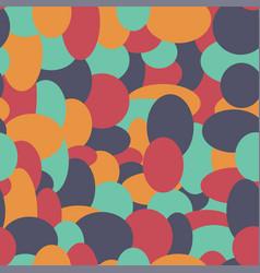 abstract retro confetti seamless pattern vector image