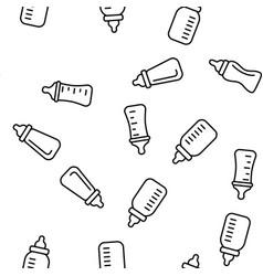 babottle childcare equipment seamless vector image