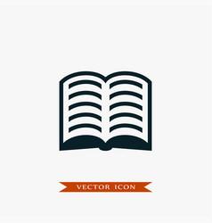 book icon simple vector image