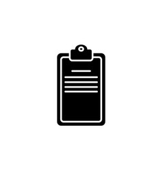 clipboard or checklist icon vector image