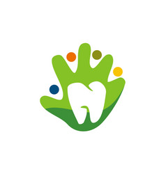 Family dental care vector