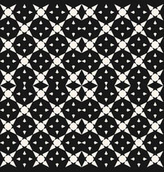 geometric mosaic seamless pattern with star shapes vector image