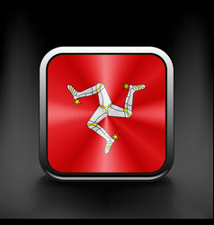 Isle of Man icon flag national travel icon country vector