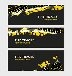 rally race grunge tire dirt car background banner vector image