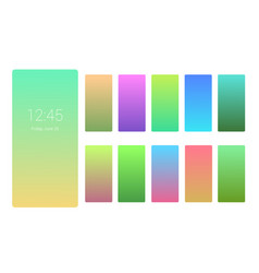 soft color background design on screen gradient vector image