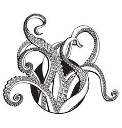 Tentacles icon vector