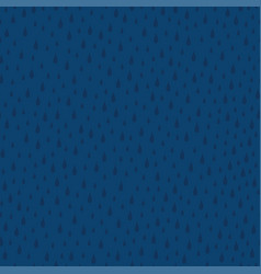 awesome seamless pattern with raindrops vector image