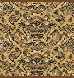 abstract python snake skin wallpaper vector image