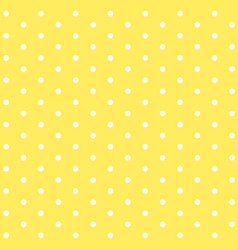 Background template design with dots on yellow vector