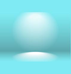 blue studio background lit spotlights a clean vector image